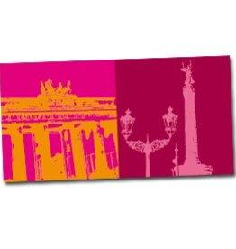 ART-DOMINO® by SABINE WELZ POSTKARTE BERLIN - 07