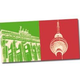 ART-DOMINO® by SABINE WELZ POSTKARTE BERLIN - 02