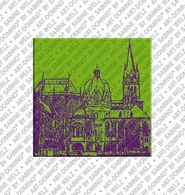 ART-DOMINO® by SABINE WELZ Magnet Aachen - 01