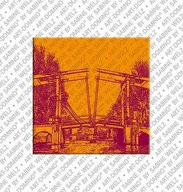 ART-DOMINO® by SABINE WELZ Magnet Amsterdam - 01