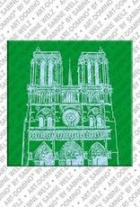 ART-DOMINO® by SABINE WELZ Paris - Notre Dame