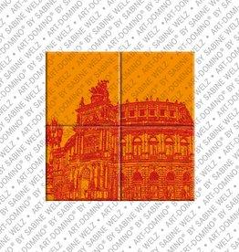 ART-DOMINO® by SABINE WELZ MAGNETBILD DRESDEN - 01