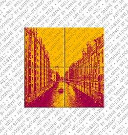 ART-DOMINO® by SABINE WELZ MAGNETBILD HAMBURG - 02