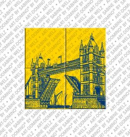 ART-DOMINO® by SABINE WELZ MAGNETBILD LONDON - 02
