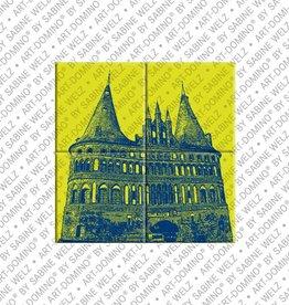 ART-DOMINO® by SABINE WELZ MAGNETBILD LÜBECK - 01