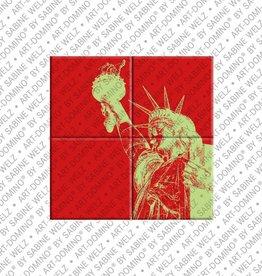 ART-DOMINO® by SABINE WELZ MAGNETBILD NEW YORK - 01