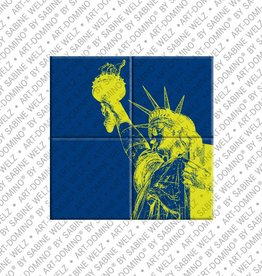 ART-DOMINO® by SABINE WELZ MAGNETBILD NEW YORK - 02