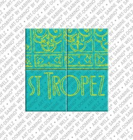 ART-DOMINO® by SABINE WELZ MAGNETBILD SAINT TROPEZ - 01