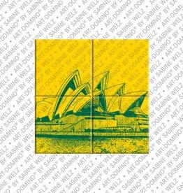 ART-DOMINO® by SABINE WELZ MAGNETBILD SYDNEY - 01