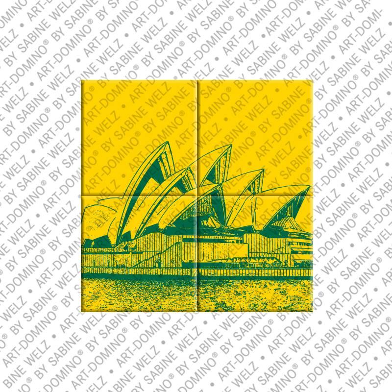 Magnetbild Sydney - Magnetbilder mit Stadtmotiven - ART-DOMINO ...