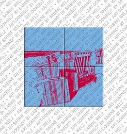 ART-DOMINO® by SABINE WELZ MAGNETBILD SYLT - 01