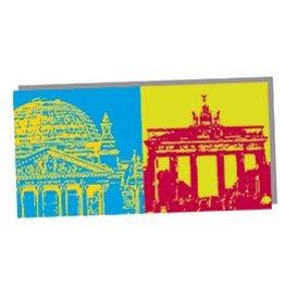 ART-DOMINO® by SABINE WELZ FOLDED CARD - BERLIN - 02