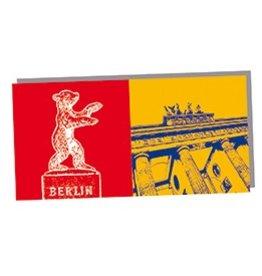 ART-DOMINO® by SABINE WELZ FOLDED CARD - BERLIN - 01