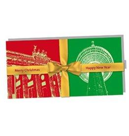 ART-DOMINO® by SABINE WELZ CHRISTMAS - FOLDED CARD - BERLIN-01