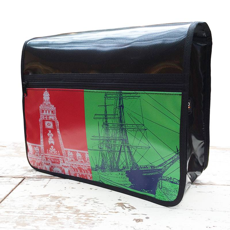 ART-DOMINO® by SABINE WELZ CITY-BAG Nr. 399: Hamburg