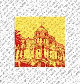ART-DOMINO® by SABINE WELZ Magnet - Nizza - 02