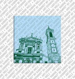 ART-DOMINO® by SABINE WELZ Magnet - Nizza - 03