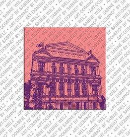 ART-DOMINO® by SABINE WELZ Magnet - Nizza - 04