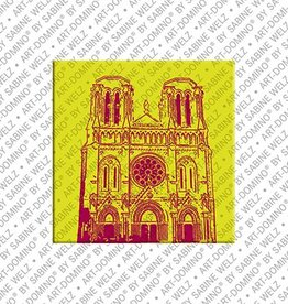 ART-DOMINO® by SABINE WELZ Magnet - Nice - 05