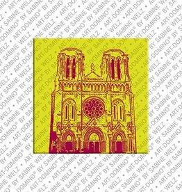 ART-DOMINO® by SABINE WELZ Magnet - Nizza - 05