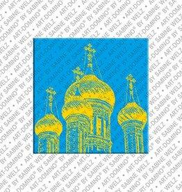 ART-DOMINO® by SABINE WELZ Magnet - Nizza - 06
