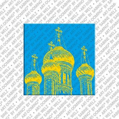 ART-DOMINO® by SABINE WELZ  Nice - La Cathedrale Orthodox Russian Saint-Nicola