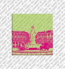 ART-DOMINO® by SABINE WELZ Magnet - Nizza - 08