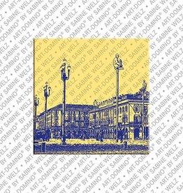 ART-DOMINO® by SABINE WELZ Magnet - Nizza - 09