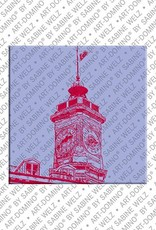 ART-DOMINO® by SABINE WELZ Nice - Tower of Saint Francois