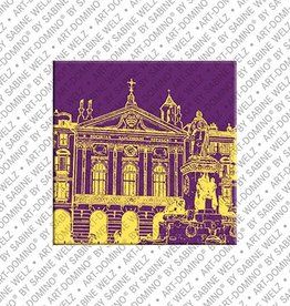 ART-DOMINO® by SABINE WELZ Magnet - Nice - 13