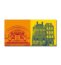 ART-DOMINO® by SABINE WELZ LEINWANDBILD - AMSTERDAM - 4100