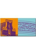 """ART-DOMINO® by SABINE WELZ Amsterdam - Haus Anno 1733 + """"Amsterdam"""""""