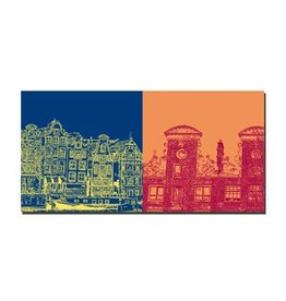ART-DOMINO® by SABINE WELZ LEINWANDBILD AMSTERDAM - 4109