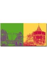 ART-DOMINO® by SABINE WELZ Amsterdam - Magere Brug + Schreierstoren