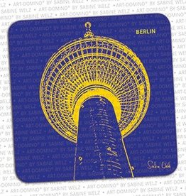 ART-DOMINO® by SABINE WELZ BEER COASTER - BERLIN - 2