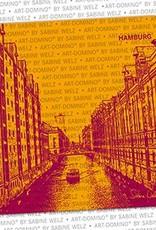 ART-DOMINO® by SABINE WELZ BIERDECKEL - Hamburg - Speicherstadt
