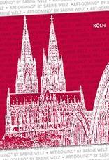 ART-DOMINO® by SABINE WELZ BIERDECKEL - Köln - Kölner Dom