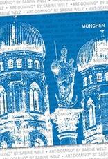 ART-DOMINO® by SABINE WELZ BIERDECKEL - München - Frauenkirche