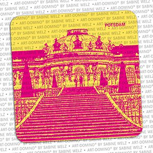 ART-DOMINO® by SABINE WELZ BIERDECKEL - Potsdam - Schloss Sanssouci