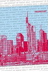 ART-DOMINO® by SABINE WELZ BIERDECKEL - Frankfurt - Skyline
