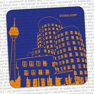 ART-DOMINO® by SABINE WELZ BIERDECKEL - Düsseldorf - Gehry Bauten