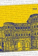 ART-DOMINO® by SABINE WELZ BIERDECKEL - Trier - Porta Nigra