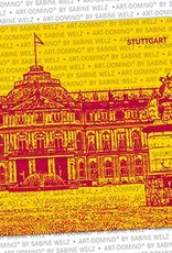 ART-DOMINO® by SABINE WELZ Bierdeckel-Stuttgart Neues Schloss