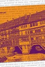 ART-DOMINO® by SABINE WELZ Bierdeckel-Erfurt Krämerbrücke