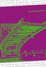 ART-DOMINO® by SABINE WELZ Bierdeckel-Wilhelmshaven Kaiser-Wilhelm-Brücke