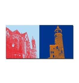 ART-DOMINO® by SABINE WELZ LEINWANDBILD - ARNSTADT - 21507
