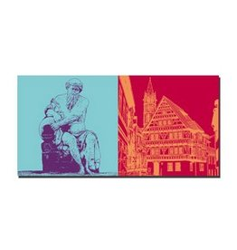 ART-DOMINO® by SABINE WELZ LEINWANDBILD - ARNSTADT - 21509
