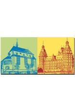 ART-DOMINO® by SABINE WELZ Aschaffenburg - Kunsthalle Jesuitenkirche + Schloss Johannisburg