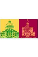 ART-DOMINO® by SABINE WELZ Bad Homburg - Kaiser-Wilhelm-Bad + Russische Kirche