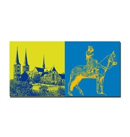 ART-DOMINO® by SABINE WELZ LEINWANDBILD - BAMBERG - 960400